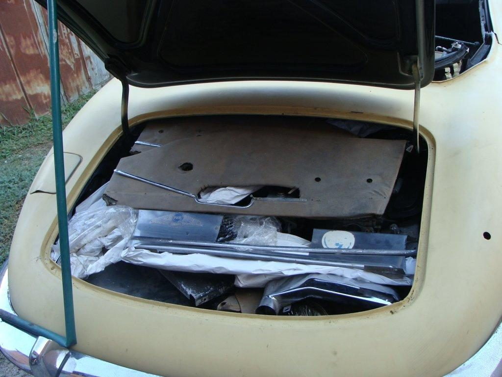 Trunk full of parts