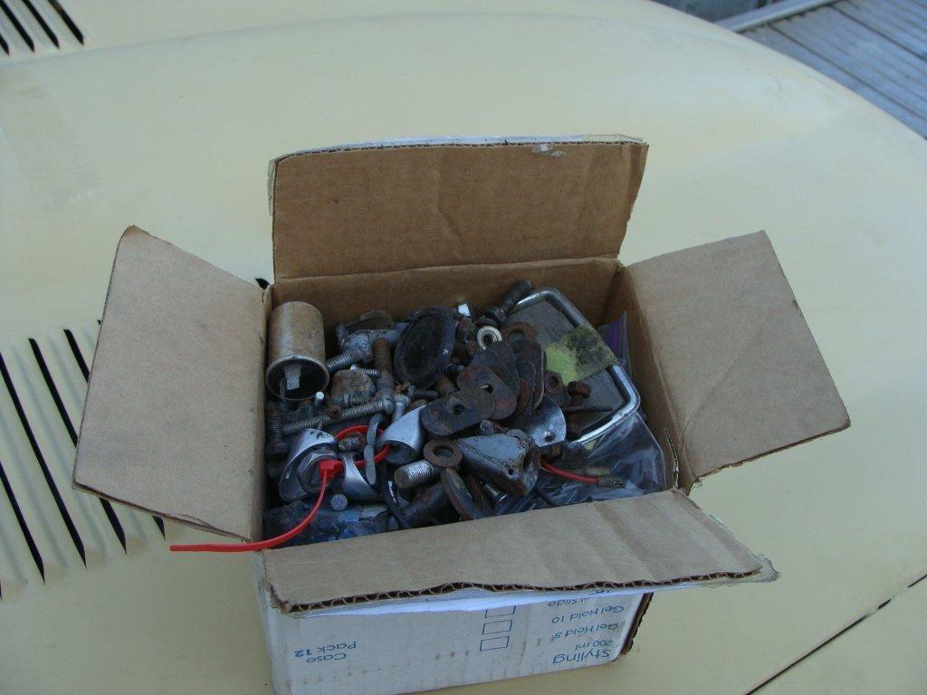 A box full of parts